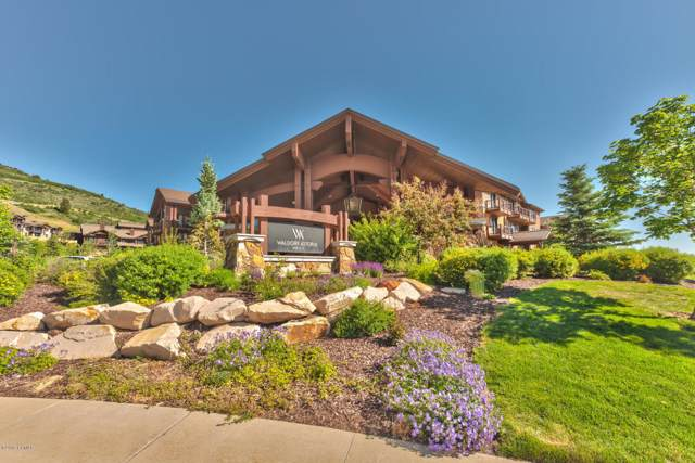 2100 W Frostwood Boulevard #7121, Park City, UT 84098 (MLS #11907900) :: High Country Properties