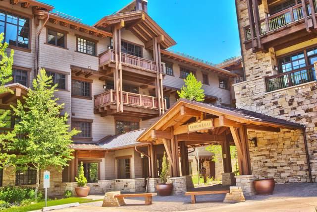 8886 Empire Club Drive #306, Park City, UT 84060 (MLS #11908077) :: High Country Properties