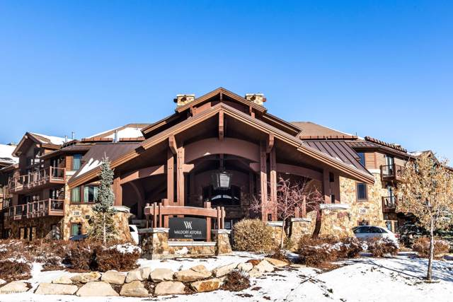 2100 W Frostwood Boulevard #6118, Park City, UT 84098 (MLS #11908343) :: High Country Properties