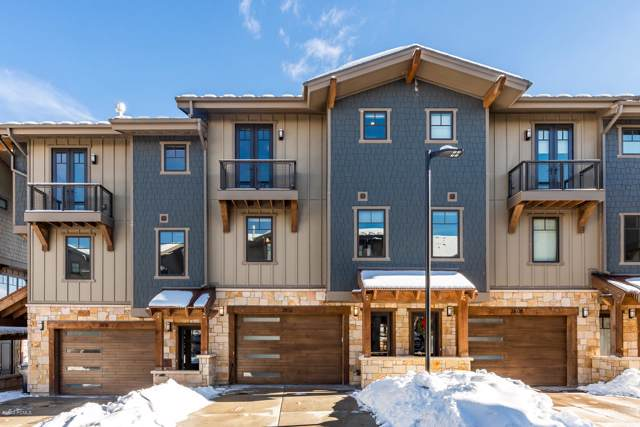 3812 Blackstone Drive #24, Park City, UT 84098 (MLS #11908800) :: Lawson Real Estate Team - Engel & Völkers