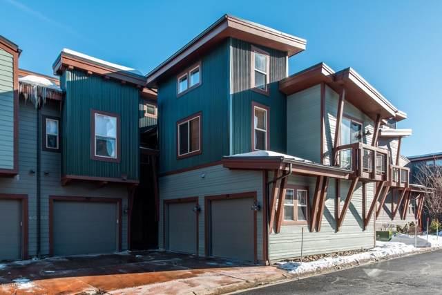 6080 Park Lane S #52, Park City, UT 84098 (MLS #12000205) :: Lookout Real Estate Group