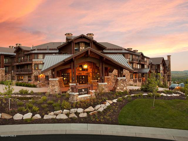 2100 W Frostwood Boulevard #5163, Park City, UT 84098 (MLS #12000369) :: High Country Properties