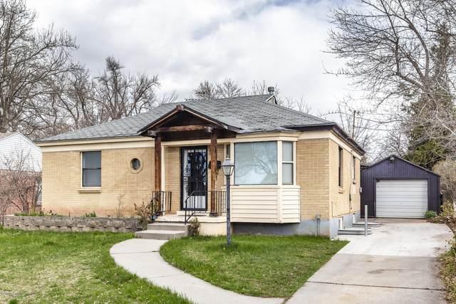 2191 E Westminster Avenue, Salt Lake City, UT 84108 (MLS #12000977) :: High Country Properties
