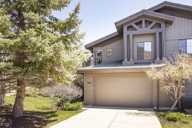 2652 Cottage Loop #25, Park City, UT 84098 (MLS #12001337) :: High Country Properties