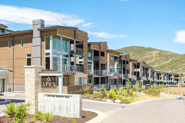 2752 W High Mountain Road #1001, Park City, UT 84098 (MLS #12002955) :: High Country Properties