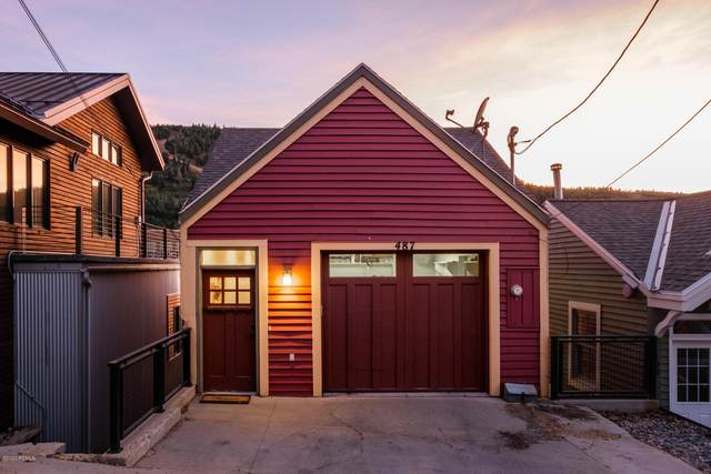 487 Ontario Avenue, Park City, UT 84060 (MLS #12003410) :: High Country Properties