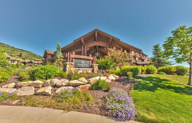 2100 W Frostwood Boulevard #7121, Park City, UT 84098 (MLS #12003672) :: High Country Properties