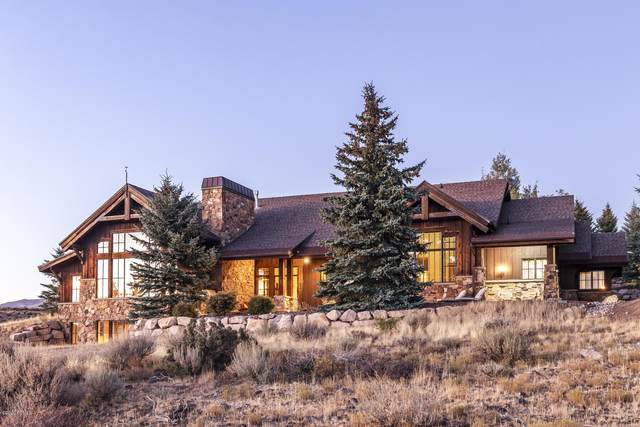 7701 N West Hills Trail, Park City, UT 84098 (MLS #12003807) :: Lookout Real Estate Group
