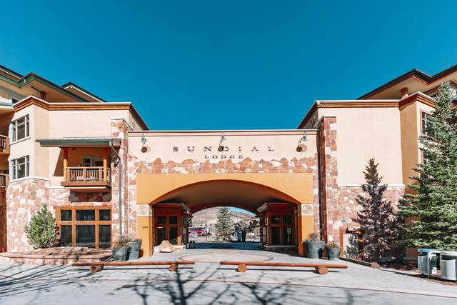 3720 N Sundial Court C110, Park City, UT 84098 (MLS #12004289) :: Lookout Real Estate Group