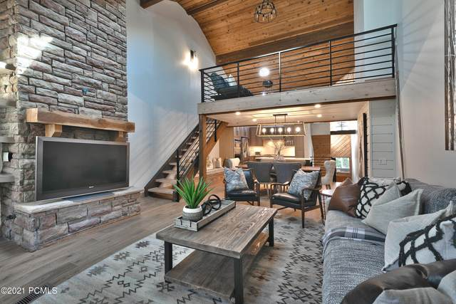 8022 Ridgepoint Drive #121, Park City, UT 84060 (MLS #12101296) :: High Country Properties