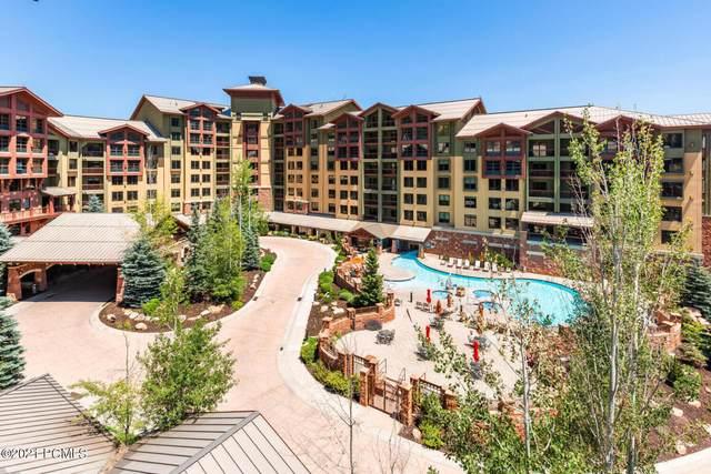 3855 Grand Summit Drive #116, Park City, UT 84098 (MLS #12103133) :: High Country Properties