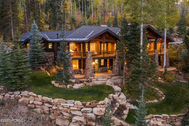23 White Pine Canyon Road, Park City, UT 84060 (MLS #12103755) :: High Country Properties