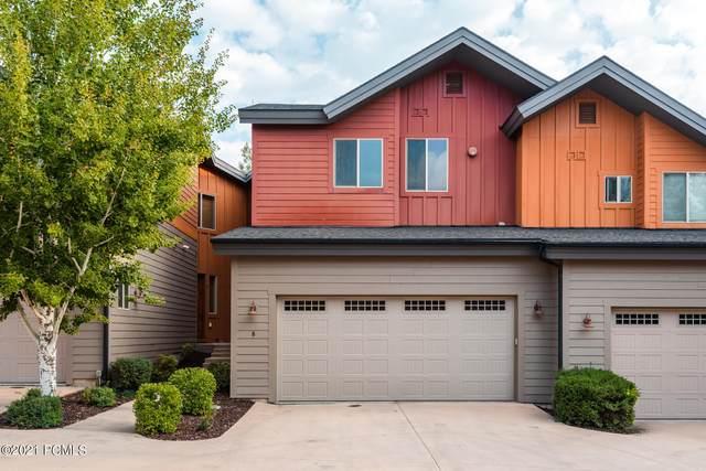 8143 Courtyard Loop #8, Park City, UT 84098 (MLS #12103891) :: High Country Properties