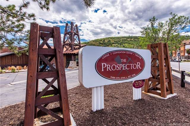 2105 Prospector Avenue #207, Park City, UT 84060 (MLS #11901790) :: High Country Properties