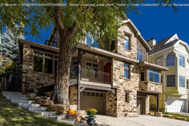 505 Deer Valley Drive, Park City, UT 84060 (#11908129) :: Red Sign Team