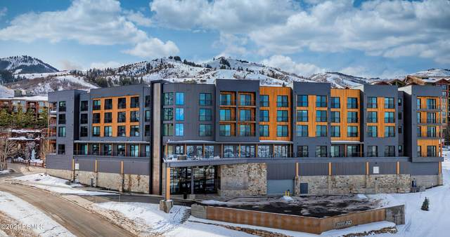 2670 W Canyons Resort Drive #309, Park City, UT 84098 (MLS #12001408) :: High Country Properties