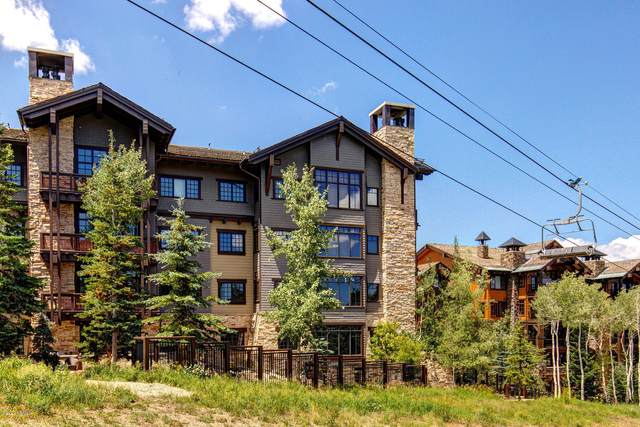 8886 Empire Club Drive #408, Park City, UT 84060 (#12002311) :: Red Sign Team