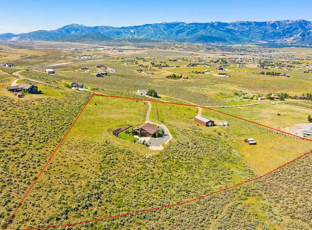 1411 N Crescent Drive, Park City, UT 84098 (MLS #12002515) :: High Country Properties