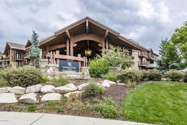 2100 Frostwood Drive #5124, Park City, UT 84098 (MLS #12003384) :: High Country Properties