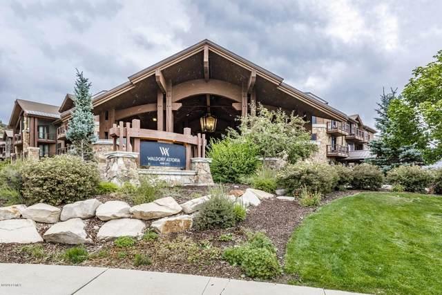 2100 Frostwood Drive #5124, Park City, UT 84098 (MLS #12003384) :: Park City Property Group