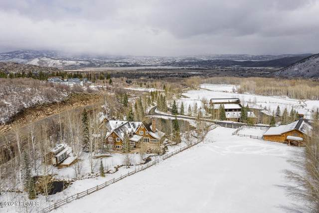 2189 White Pine Canyon Road, Park City, UT 84060 (MLS #12101678) :: High Country Properties