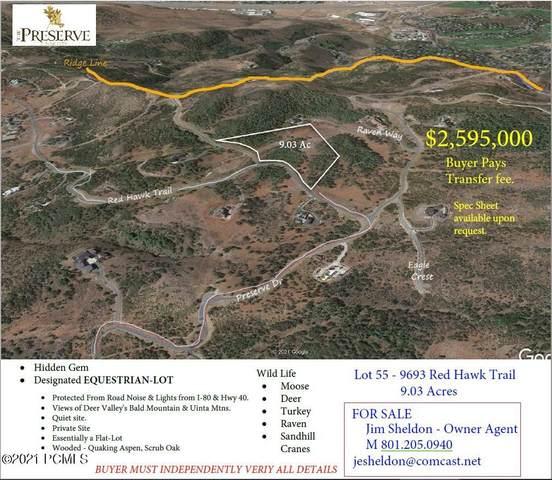 9693 N Red Hawk Trail, Park City, UT 84098 (MLS #12102986) :: Summit Sotheby's International Realty