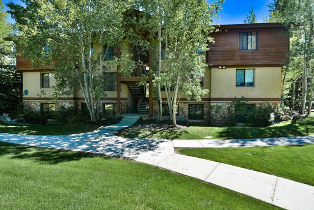1600 Pinebrook Boulevard G1, Park City, UT 84098 (MLS #11901707) :: High Country Properties