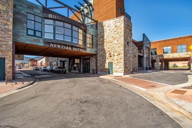 1476 W Newpark Boulevard #403, Park City, UT 84098 (MLS #11907360) :: High Country Properties