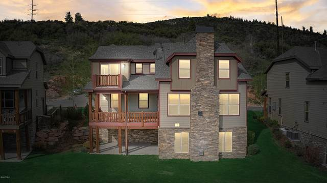 5437 Upper Luge Lane #34, Park City, UT 84098 (MLS #11908817) :: High Country Properties