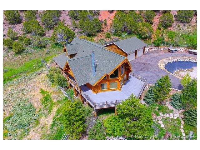 6690 N State Rd #32, Peoa, UT 84061 (MLS #11702234) :: High Country Properties