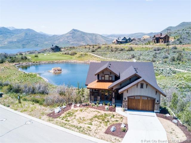 1375 E Lasso Trail, Hideout, UT 84036 (MLS #11702260) :: High Country Properties