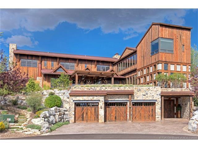 8642 N Sunset Circle, Park City, UT 84098 (MLS #11703506) :: High Country Properties