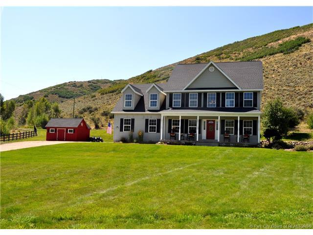 4210 Browns Canyon, Peoa, UT 84061 (MLS #11703562) :: High Country Properties