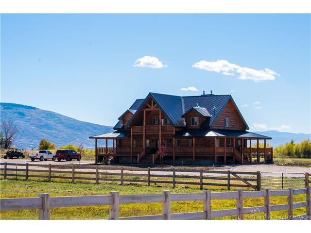 1675 W Sr 32, Peoa, UT 84061 (MLS #11704108) :: High Country Properties