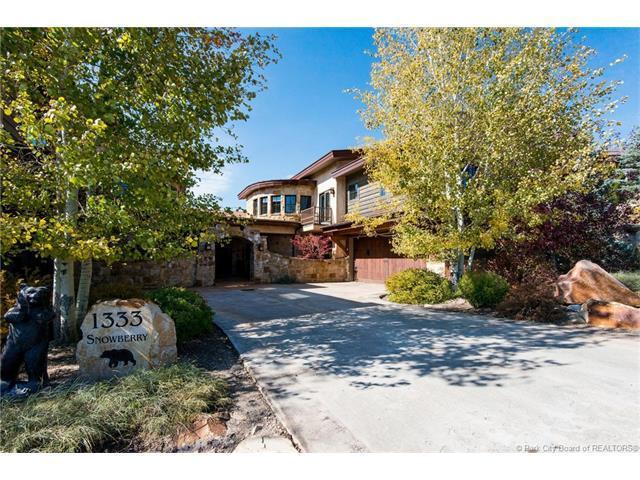 1333 Snow Berry Street, Park City, UT 84098 (MLS #11704166) :: High Country Properties