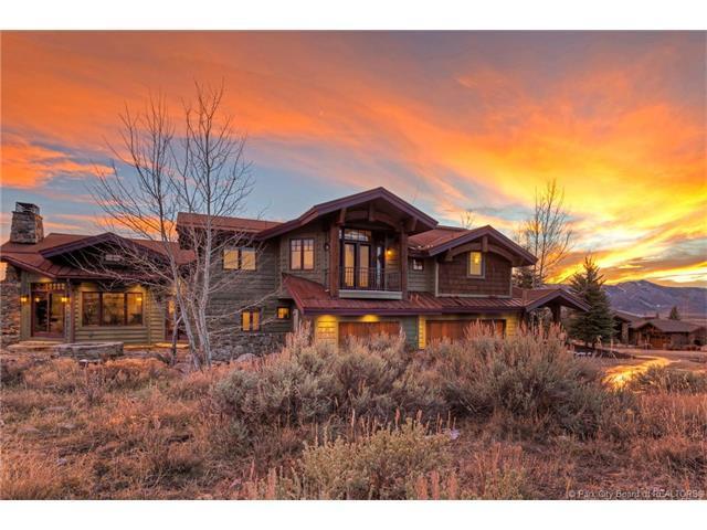7580 N West Hills Trail, Park City, UT 84098 (MLS #11704348) :: High Country Properties