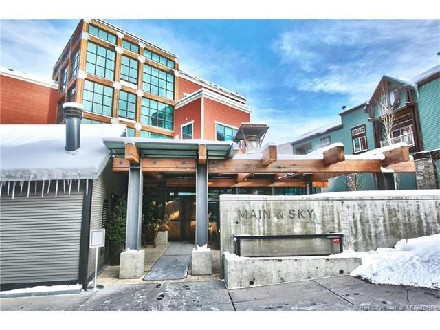 201 Heber Avenue 206A, Park City, UT 84060 (MLS #11801538) :: High Country Properties