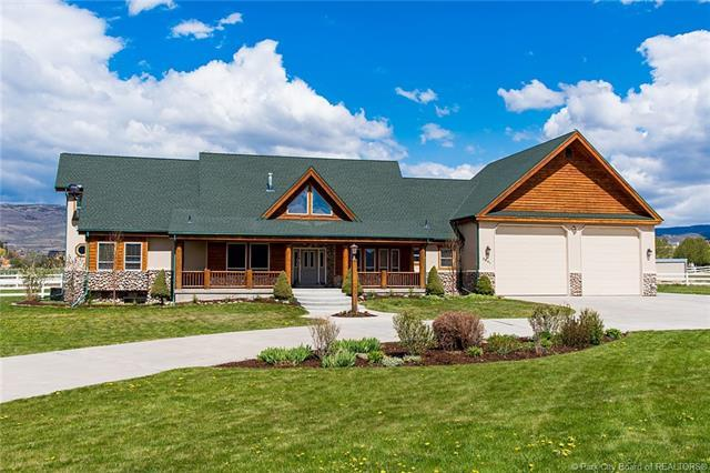 2841 Wild Mare Way, Heber City, UT 84032 (MLS #11803590) :: The Lange Group