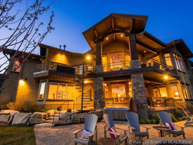 9230 N Sand Trap Court, Park City, UT 84098 (MLS #11804485) :: High Country Properties