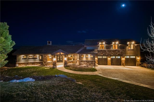 9060 N Twin Peaks Drive, Kamas, UT 84036 (MLS #11804896) :: The Lange Group