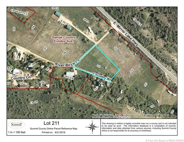 Lot 211 River Birch Lane, Kamas, UT 84036 (MLS #11805652) :: The Lange Group