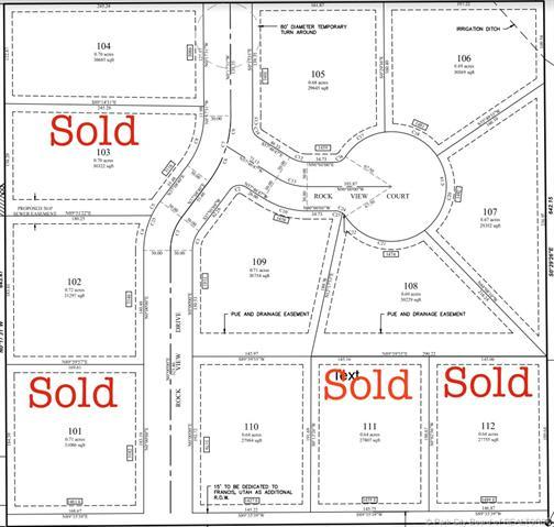 1481 Rock View Lot#106 Court, Francis, UT 84036 (MLS #11900177) :: High Country Properties