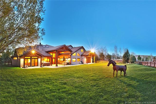 2440 Holiday Ranch Loop, Park City, UT 84060 (MLS #11902220) :: High Country Properties