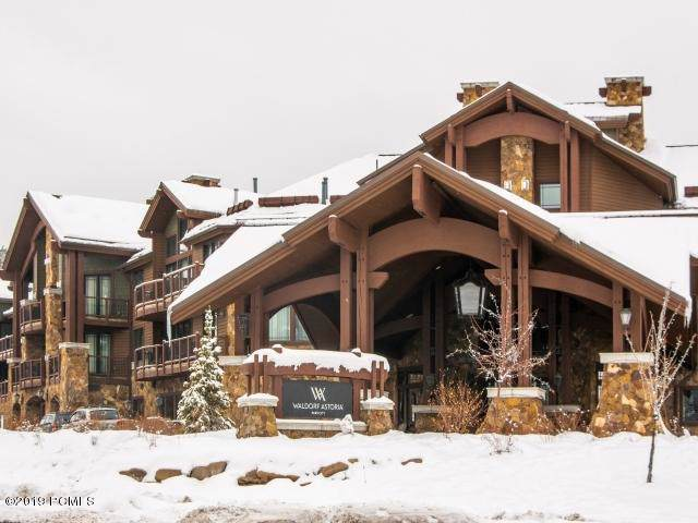 2100 Frostwood Drive #4171, Park City, UT 84098 (#11908841) :: Red Sign Team