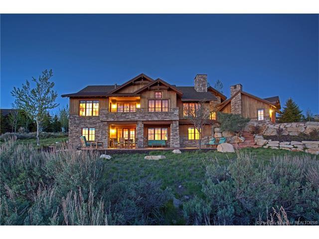 8030 N West Hills Trail, Park City, UT 84098 (MLS #11702103) :: High Country Properties
