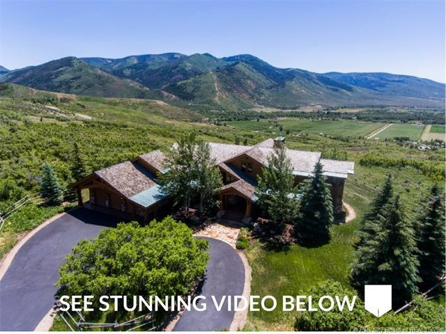 6001 N Maple Ridge Trail, Oakley, UT 84055 (MLS #11703181) :: High Country Properties