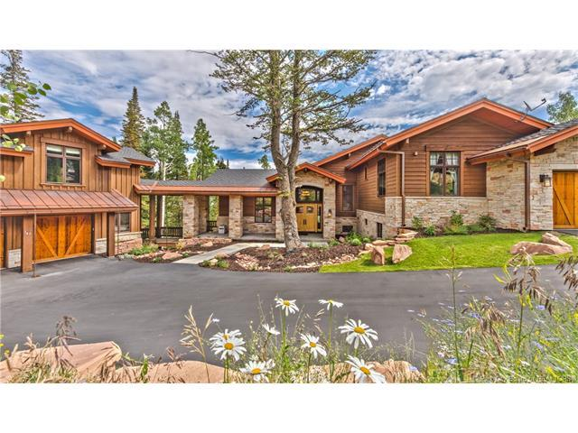 147 White Pine Canyon Road, Park City, UT 84060 (MLS #11703593) :: The Lange Group