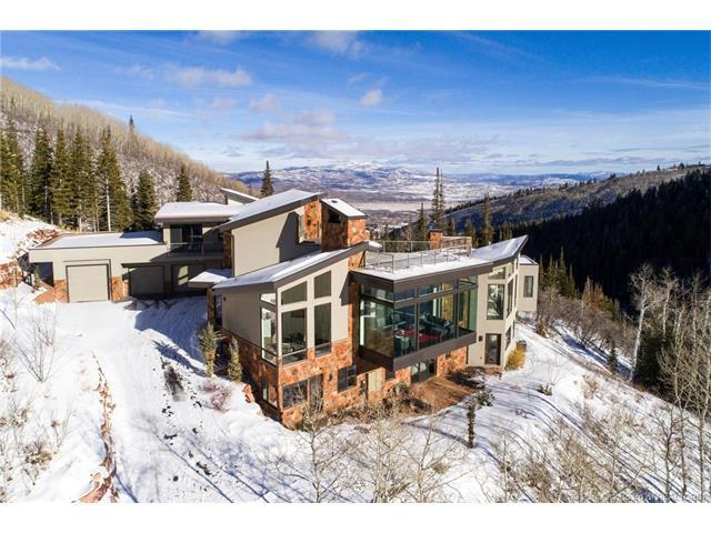 160 White Pine Canyon Road, Park City, UT 84060 (MLS #11800078) :: High Country Properties