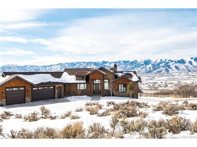 958 N Oakridge Road, Park City, UT 84098 (MLS #11800178) :: High Country Properties