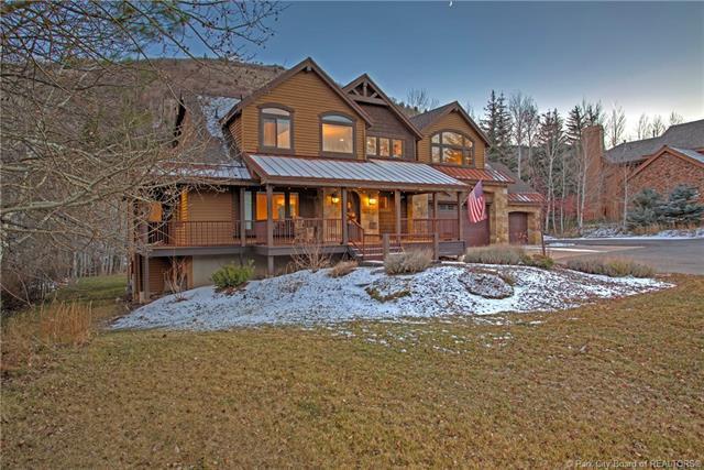 7836 N Pinebrook Road, Park City, UT 84098 (MLS #11808033) :: High Country Properties